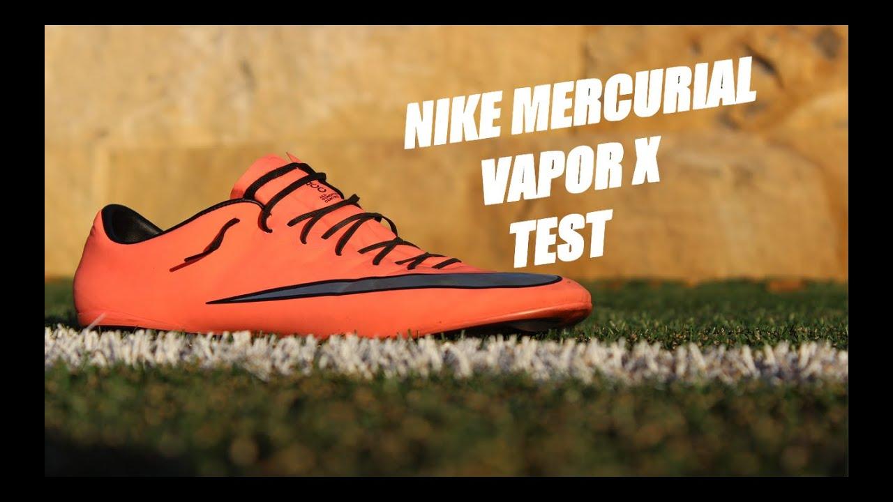 online store d9e7e 5706d Nike Mercurial Vapor X Test - Metal Flash Pack   Nike Bright Mango
