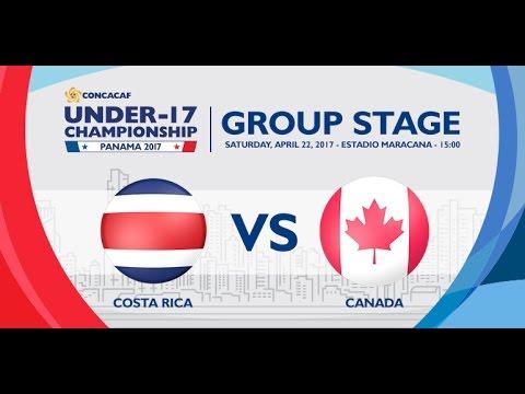 CU17PAN: Costa Rica vs Canada