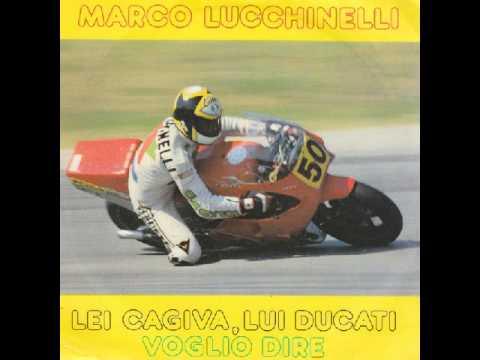 Marco Lucchinelli -  Lei Cagiva, lui Ducati