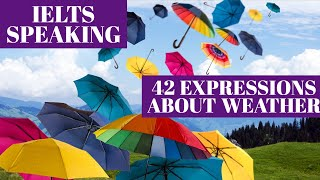 Baixar Learn IELTS speaking advanced vocabulary tips: 42 expressions about the weather