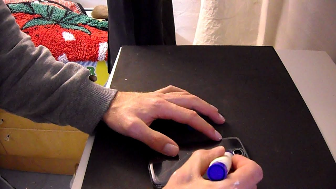 DIY Schwarzlicht-Lampe für das Handy Smartphone - so einfach geht es ...