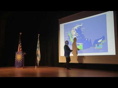 Ν. Λυγερός: Στρατηγική Ανάλυση Σκοπιανού. Maliotis Cultural Center, Boston, 09/12/2018