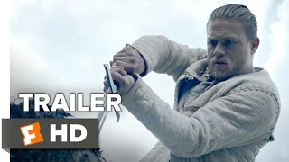 king arthur legend of the sword official comic con trailer 2017 charlie hunnam movie