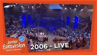 Recap of all the songs of the 2006 Junior Eurovision Song Contest