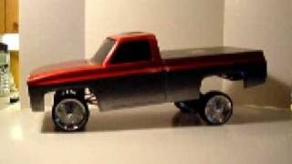 Cover images R/C lowrider truck w/hydraulics