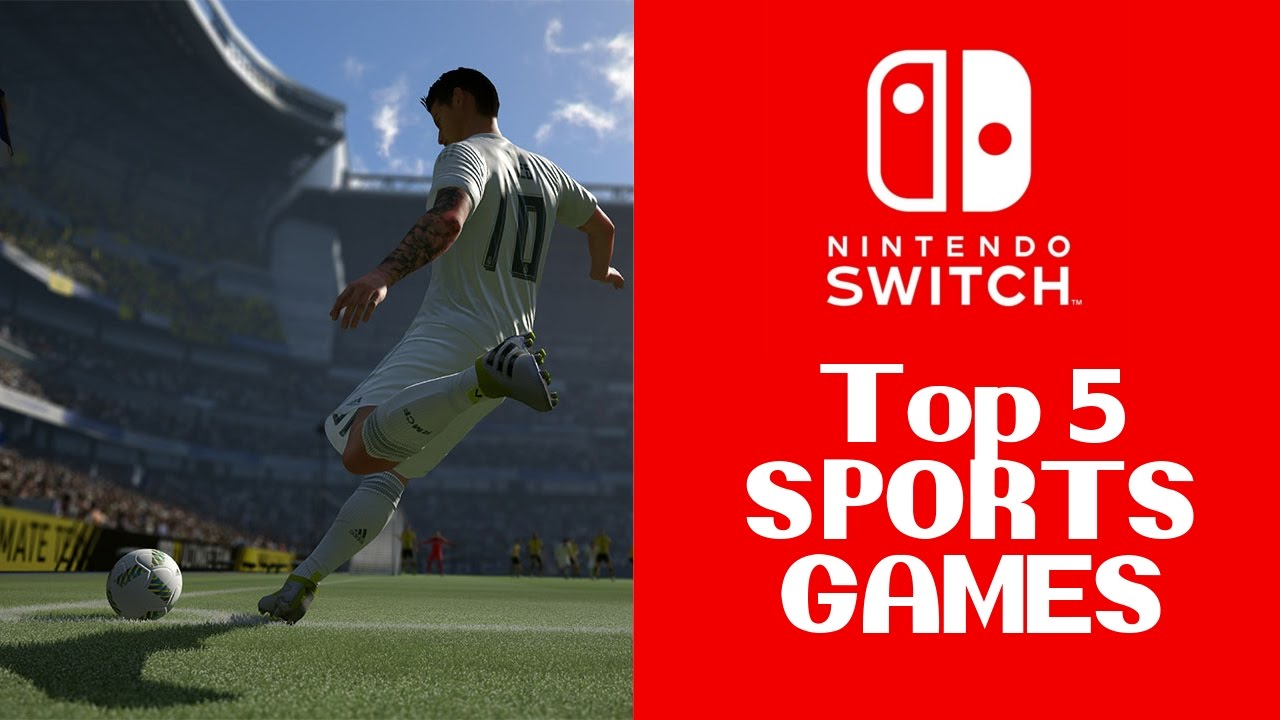 Top 5 Sports Games For Nintendo Switch Youtube