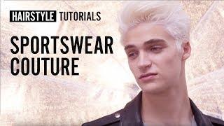 How to style sportswear couture? by Maison Gérard Laurent | L'Oréal Professionnel tutorials