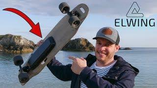 Premier Skate Électrique, gros coup de coeur : Elwing Halokee !