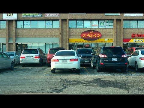 [4K] 2018 Driving from Costco Brampton to Zauq Restaurant Mississauga