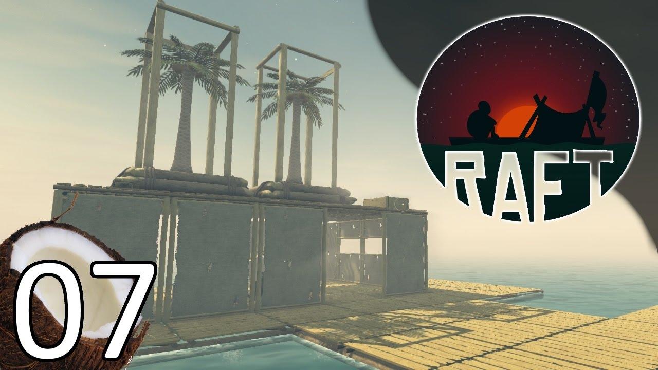 RAFT - Ending- Part 7 Let's Play Raft Gameplay