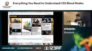 JWC15 - Everything you need to understand CSS Blend Modes