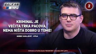 INTERVJU: Đorđe Vasiljević - Kriminal je večita trka pacova, nema ništa dobro u tome! (1.12.2019)