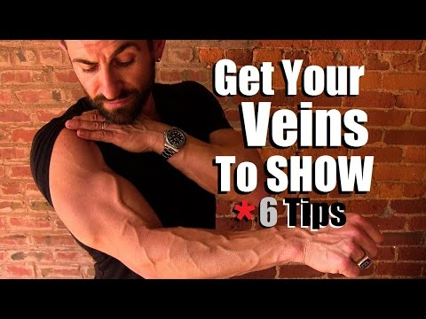 How To Get Your Veins To Show | 6 Tricks To Look MORE Vascular