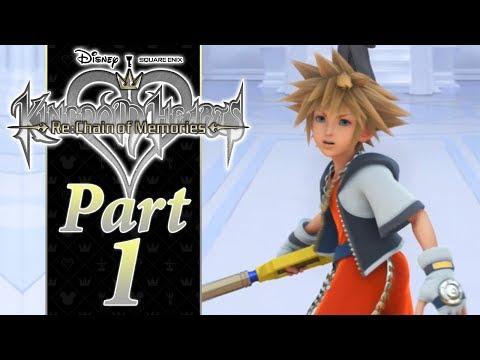 A FRAGMENTED CASTLE - PART 1 - Kingdom Hearts RE:CoM HD PS4