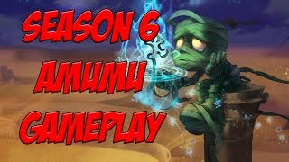 Pre-Season 6 Amumu Build + Gameplay [League Of Legends]