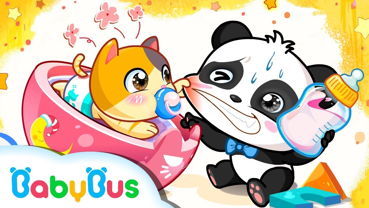 Care For Baby Animals Baby Care Series Kids Cartoon
