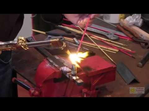 Nickel Bronze Build-up Brazing demo on copper and steel - Vulcan 310