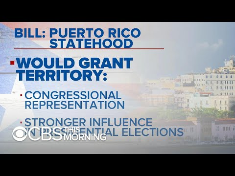 Lawmakers to introduce bill to grant Puerto Rico statehood