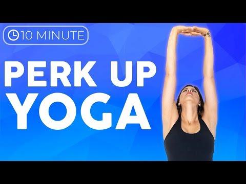 10 minute Morning Yoga Perk up for Posture | Sarah Beth Yoga