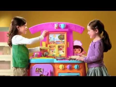 Fiesta Kitchen Paint Cabinets Fisher Price Dora Favorites Youtube