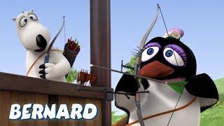 Bernard Bear | Archery AND MORE | Cartoons for Children