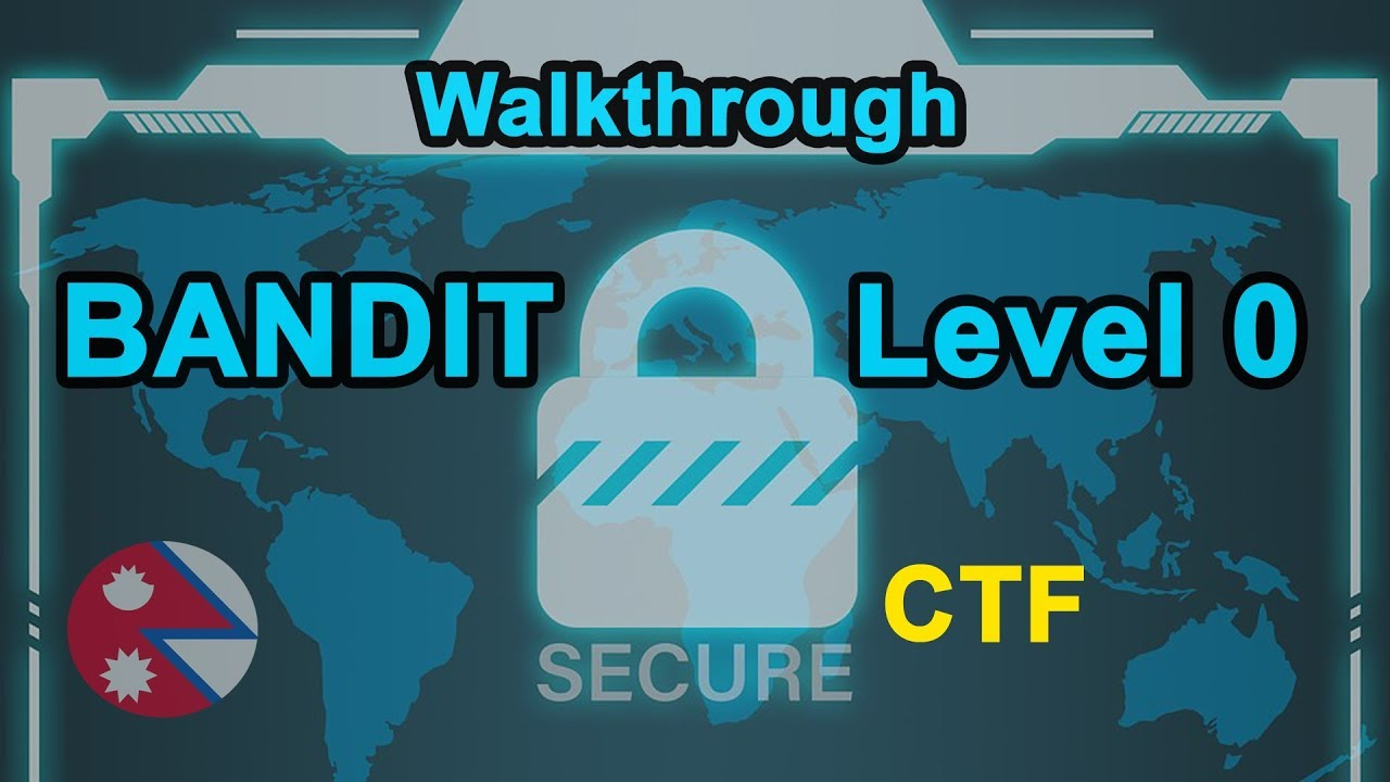 CTF Bandit : Level 0 [Over the wire]
