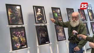 Выставка эксцентричного фотохудожника Николая Викторова открылась в Череповце