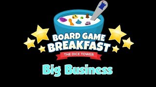 Board Game Breakfast - Big Business