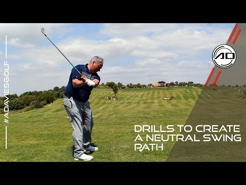 Drills To Get A Neutral Swing Path In Golf