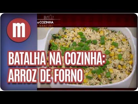 Batalha na Cozinha: arroz de forno - Mulheres (07/07/17)