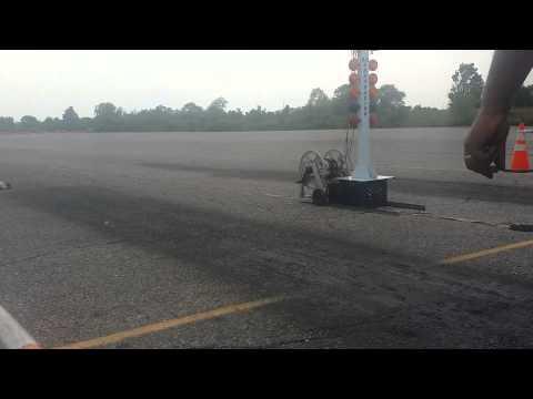 Team Kiki(Special Built Chris Bartolone Motor & Pipe)vs Dale Dragster