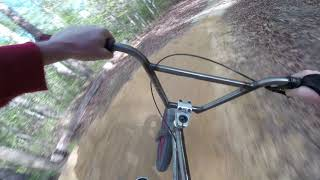 Pocahontas State Park Corkscrew on a BMX Bike