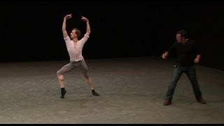 Alexei Ratmansky rehearses 24 Preludes with The Royal Ballet