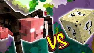 ARANHA MUTANTE VS. LUCKY BLOCK AREIA (MINECRAFT LUCKY BLOCK CHALLENGE MUTANT SPIDER)