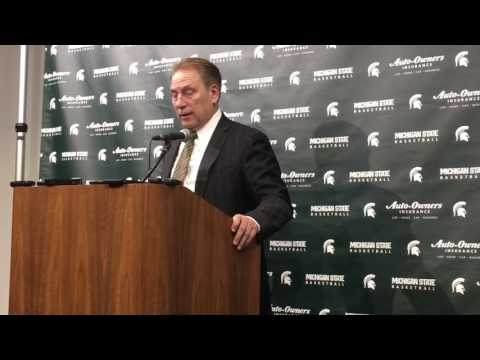Tom Izzo after Minnesota win