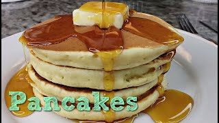 PANCAKES | Fluffy Pancakes Recipe | How To Make Pancakes | Hot Cakes Recipe