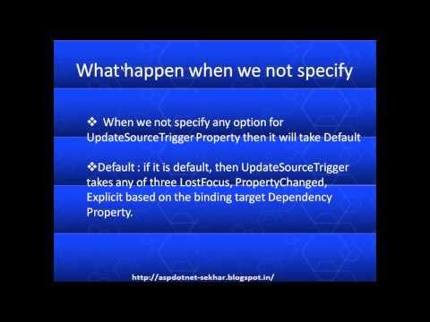 UpdateSourceTrigger in wpf