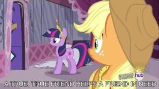 A True, True Friend [with lyrics] - My Little Pony : Friendship is Magic Song