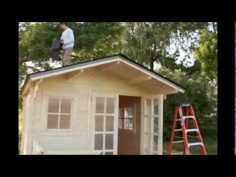 Come montare una casetta in legno a pannelli