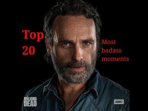 Rick grimes-Top 20 most badass moments