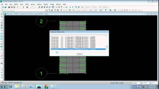 Etabs Video tutorial in bangla (ENGLISH subtitle) part 1.6 ( one way slab modeling and analysis )