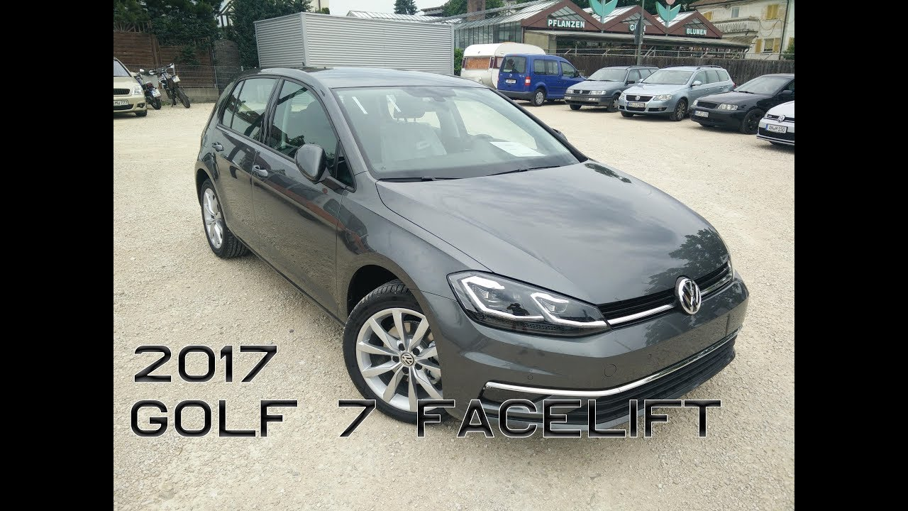 2017 vw golf 7 facelift review part 1 3 youtube. Black Bedroom Furniture Sets. Home Design Ideas