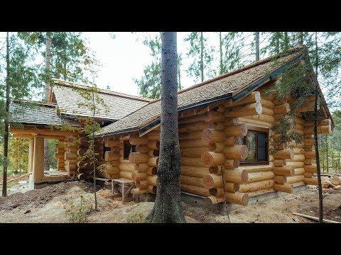 Дом ручной рубки | Рубленный дом | Дом из кедра
