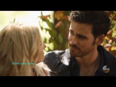 Once Upon A Time 7x02 Emma  & Hook (Killian) Scenes 2 Season 7 Episode 2