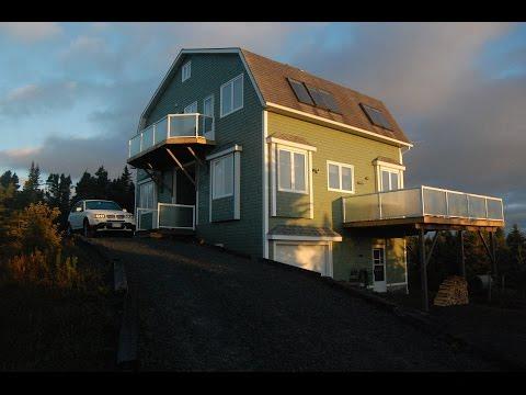 Nova Scotia Vacation Rental (Tour of SkyView on LaHave Island)