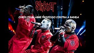 CHRIS FEHN ABRE PROCESSO CONTRA A BANDA SLIPKNOT - Slipknot 2019 (subtitles in English)