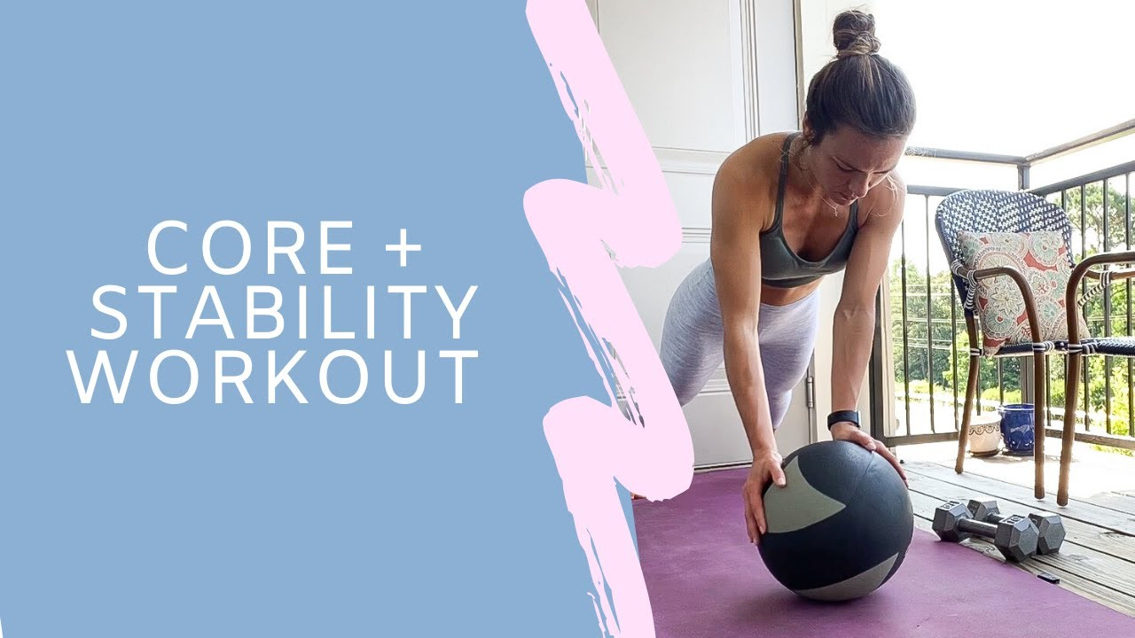 core + stability workout!!