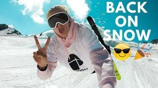BACK ON SKIS!! | VLOG 21