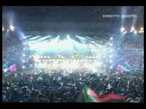 Shakira ft. Freshlyground & Mzansi Youth Choir - This Time For Africa (Live) (DIRECTV Sports)