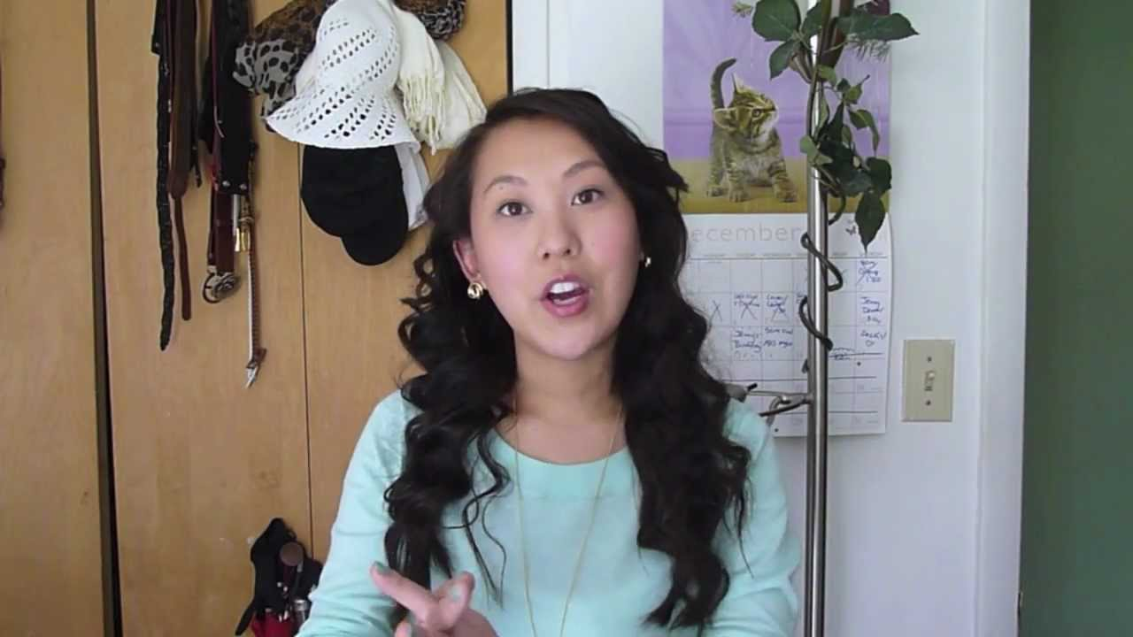 My Big Bouncy Curly Hair Tutorial For Straight Asian